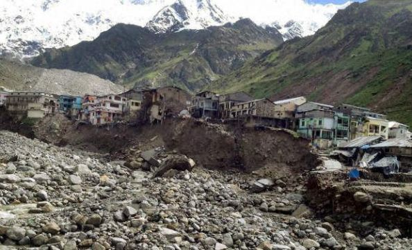 Kedarnath shrine floods _0